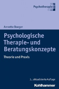 Cover Psychologische Therapie- und Beratungskonzepte