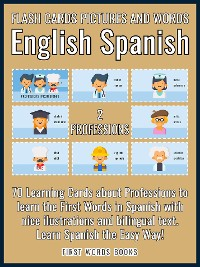 Cover 2 - Professions - Flash Cards Pictures and Words English Spanish