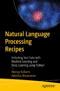 Cover Natural Language Processing Recipes