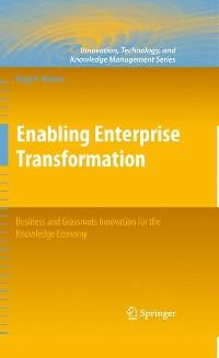 Cover Enabling Enterprise Transformation