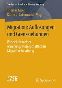 Cover Migration: Auflösungen und Grenzziehungen