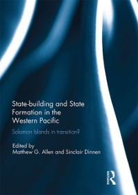 Cover Statebuilding and State Formation in the Western Pacific