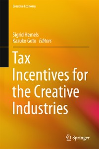 Cover Tax Incentives for the Creative Industries