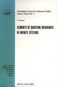 Cover Elements of Quantum Mechanics of Infinite Systems