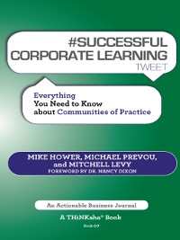 Cover #SUCCESSFUL CORPORATE LEARNING tweet Book07