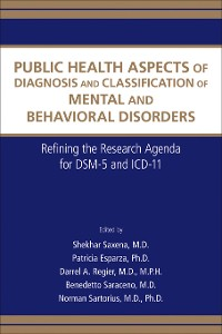 Cover Public Health Aspects of Diagnosis and Classification of Mental and Behavioral Disorders