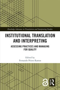 Cover Institutional Translation and Interpreting