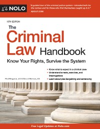 Cover Criminal Law Handbook, The