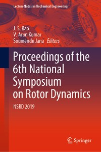 Cover Proceedings of the 6th National Symposium on Rotor Dynamics