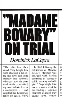 Cover Madame Bovary on Trial