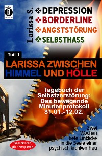 Cover DEPRESSION - BORDERLINE - ANGSTSTÖRUNG - SELBSTHASS