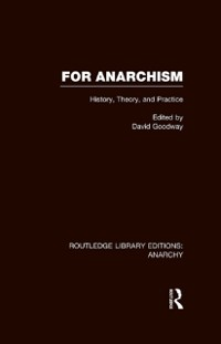 Cover For Anarchism (RLE Anarchy)