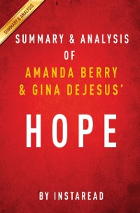 Cover Hope by Amanda Berry and Gina DeJesus   Summary & Analysis