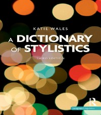 Cover Dictionary of Stylistics