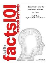 Cover Basic Statistics for the Behavioral Sciences