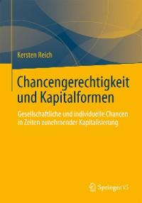 Cover Chancengerechtigkeit und Kapitalformen