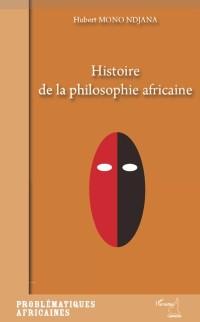 Cover Histoire de la philosophie africaine