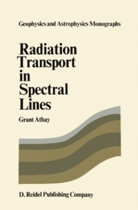 Cover Radiation Transport in Spectral Lines