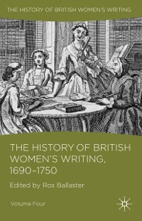 Cover The History of British Women's Writing, 1690 - 1750