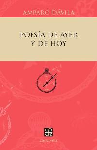 Cover Poesía de ayer y de hoy