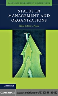 Cover Status in Management and Organizations
