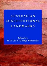 Cover Australian Constitutional Landmarks