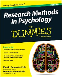 Cover Research Methods in Psychology For Dummies
