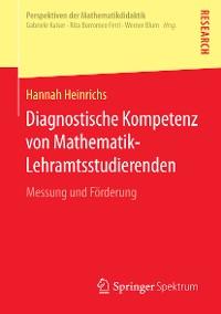 Cover Diagnostische Kompetenz von Mathematik-Lehramtsstudierenden