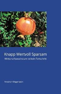Cover Knapp Wertvoll Sparsam