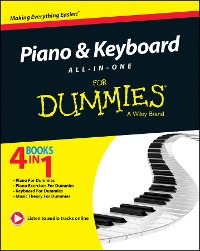 Cover Piano and Keyboard All-in-One For Dummies