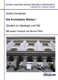 Cover Die Architektur Stalins