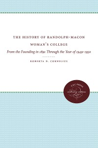 Cover The History of Randolph-Macon Woman's College