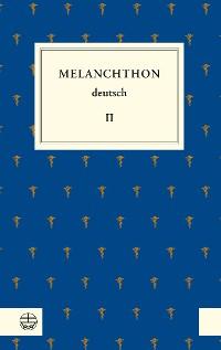 Cover Melanchthon deutsch II