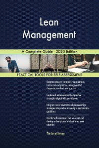 Cover Lean Management A Complete Guide - 2020 Edition