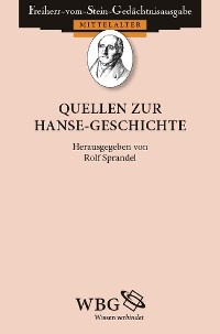 Cover Quellen zur Hanse-Geschichte