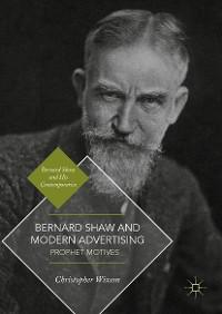 Cover Bernard Shaw and Modern Advertising