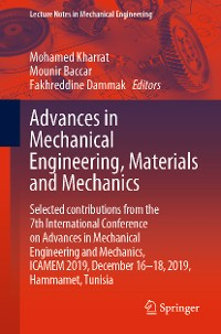 Cover Advances in Mechanical Engineering, Materials and Mechanics
