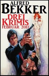 Cover Drei Krimis Februar 2017