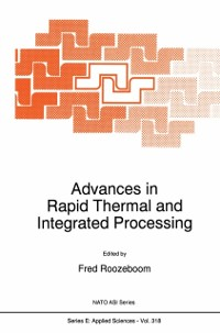 Cover Advances in Rapid Thermal and Integrated Processing