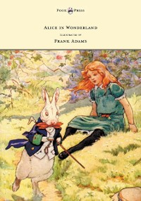 Cover Alice in Wonderland - Illustrated by Frank Adams