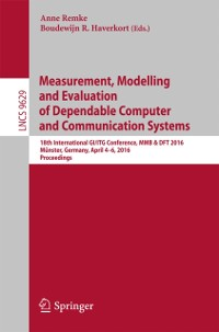 Cover Measurement, Modelling and Evaluation of Dependable Computer and Communication Systems