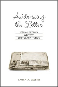 Cover Addressing the Letter