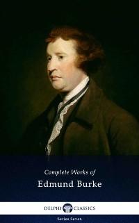 Cover Delphi Complete Works of Edmund Burke (Illustrated)