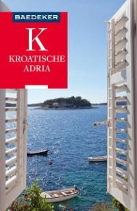 Cover Baedeker Reiseführer Kroatische Adria
