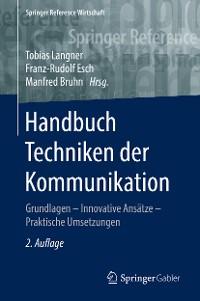 Cover Handbuch Techniken der Kommunikation