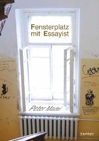 Cover Fensterplatz mit Essayist