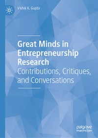 Cover Great Minds in Entrepreneurship Research