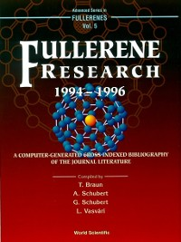 Cover Fullerene Research 1994-1996, A Computer-generated Cross-indexed Bibiliography Of Journal Literature