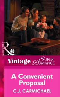 Cover convenient proposal (Mills & Boon Vintage Superromance) (The Shannon Sisters, Book 2)