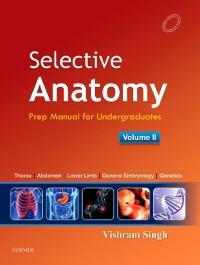 Cover Selective Anatomy Vol 2 E-book